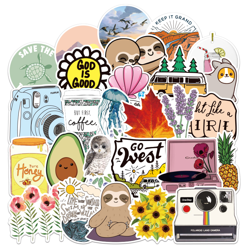 100pcs  Not Repeat Classic Fashion Style Graffiti Stickers For Moto Car & Suitcase Cool Laptop Stickers Skateboard Sticker