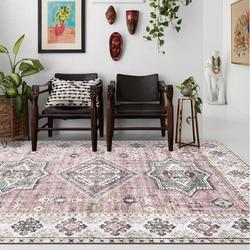 Marrocos do vintage Quarto Tapete Tapetes Sala de estar Sala de Estar Sofá Mesa De Chá Tapete Estudo Crianças Tapetes Persa Tapete Estilo Americano
