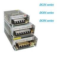 Импульсный источник питания fonte ac110 ~ 220v изменить на DC 9V 6V 3V 3a4a5a10a20a30a40a50a60a12W60W150W360W smps led fuente de poder