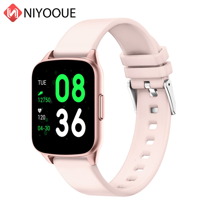 <font><b>Smartwatch</b></font> KW17 Smart Watch Woman Men With Heart Rate Monitor Blood Pressure Oxygen Sport Fitness Tracker VS B57 T80 E06 P70 <font><b>F10</b></font> image