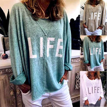 Women Baggy Oversized Loose Fit Turn up Batwing Sleeve Ladies O-Neck Top T shirt plain loose round neck batwing sleeve t shirt