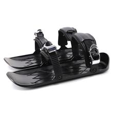Мини-коньки для катания на лыжах, короткие скейтборды, снегоступы, высококачественные регулируемые соединения, портативная Лыжная обувь, с...
