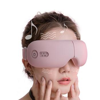 Bluetooth Smart Vibration Eye Massager Eye Care Device Hot Compress Glasses Instrument Music Foldable Eye Protection