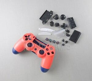 Image 5 - Pour PS4 PRO 4.0 JDM 040 JDS040 contrôleur ensemble complet boîtier coque couverture peau de remplacement pour Sony PlayStation 4 Pro 4.0