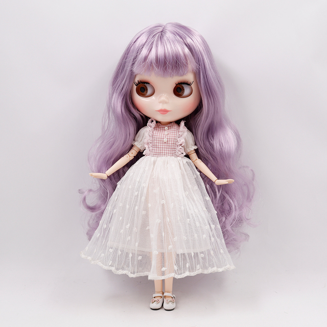 ICY DBS Blyth doll 18 joint body white skin custom face 1/6 BJD