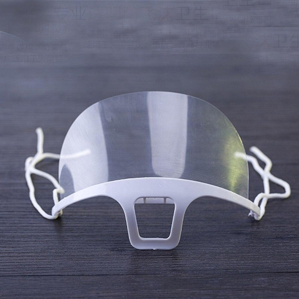 10pcs Transparent Environmental Mask Permanent Makeup Supplies Reusable Mask Tattoo Tool Accessories