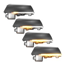 цена на 2pcs Dynamic Turn Signal LED Side Rearview Mirror Indicator Blinker Repeater Light for Volkswagen VW Polo MK5 6R 6C 2009 -