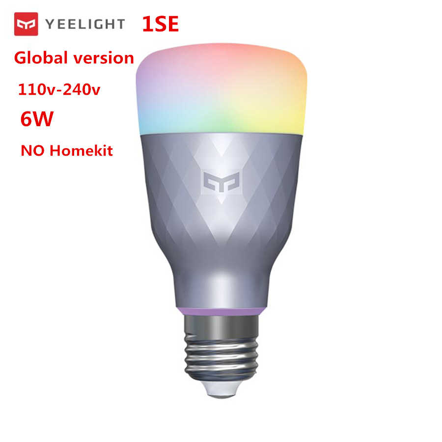 2020 Nextest yeelight akıllı LED ampul 1S / 1SE WIFI renkli akıllı ev lamba ses kontrolü ile Xiaomi mijia APP mihome homekit
