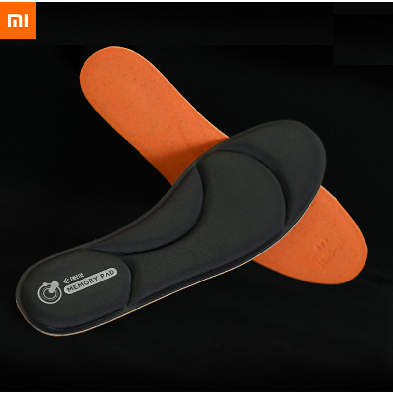 New Xiaomi Freetie Memory Cotton Soft Cushioning Insole Slow Rebound Comfortable Fit Breathable Dry Sports Insoles