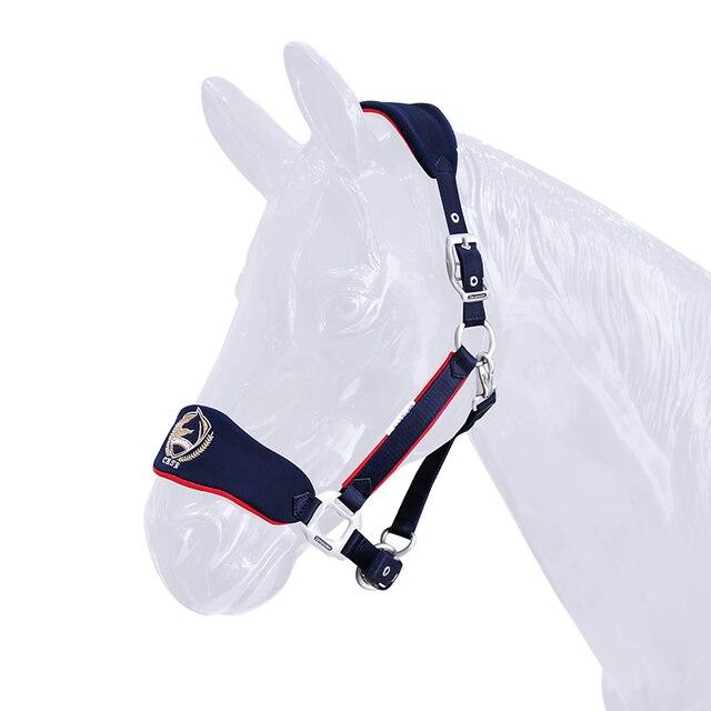 Soft & Adjustable Bridle Anti-wear Horse Halter - High-quality - Sturdy Equestrian Equipment  5