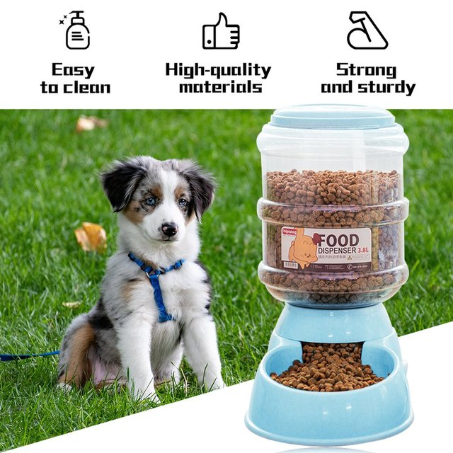 New 3.8L Pet Automatic Feeder  5