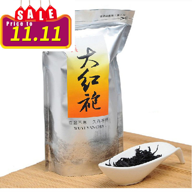250g China Big Red Robe Oolong Tea The Original Green Food Wuyi Rougui Tea For Health Care Lose Weight