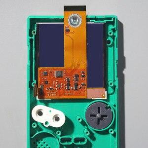 Image 3 - FUNNYPLAYING FÜR GBP/GBL IPS LCD RETRO PIXEL KIT HOHE LICHT HINTERGRUNDBELEUCHTUNG HELLIGKEIT 36 retro farbe kombinationen FÜR GAMEBOY TASCHE
