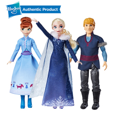 Hasbro Disney Frozen Olaf's Frozen Adventure Elsa Anna Kristof Doll Birthday Present Kid Girls Toy Cute Doll Collection 30cm кукла disney frozen elsa