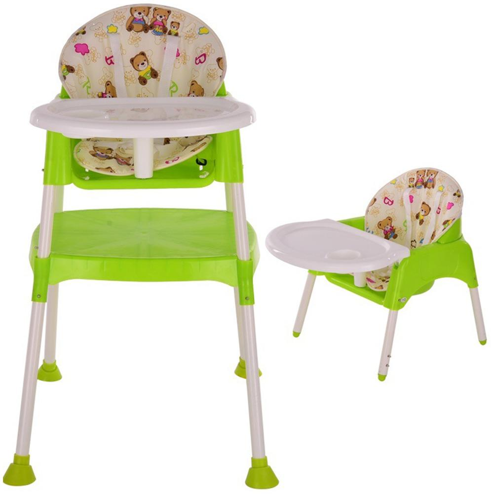 HobbyLane 3 In 1 Multi-function Baby Folding Dining Chair Portable Baby Chair Set