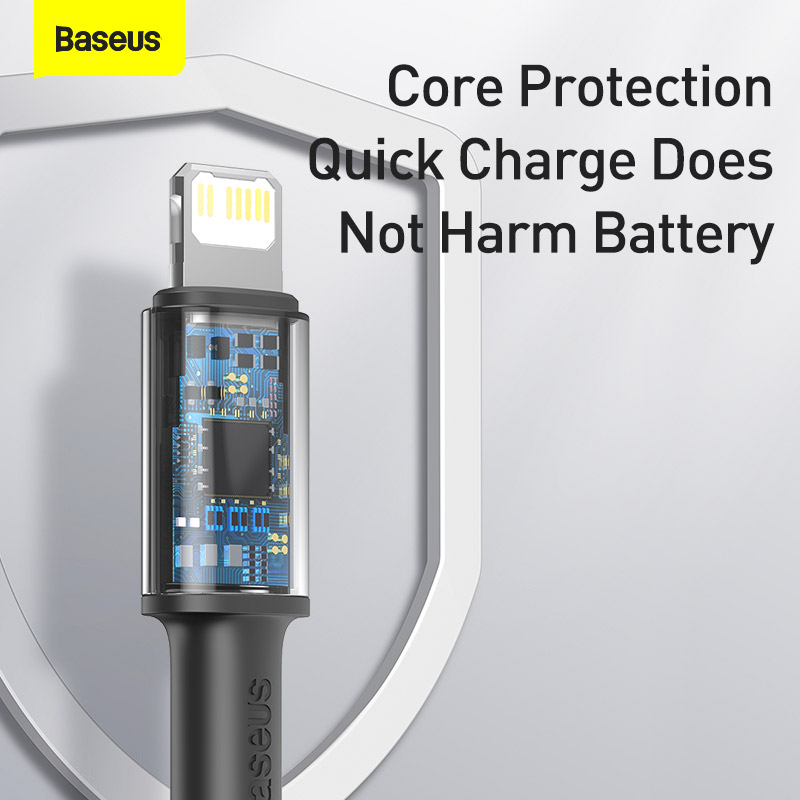 Baseus 20W PD USB Type C Cable for iPhone 13 12 Pro Xs Max Fast Charging Charger for MacBook iPad Pro Type-C USBC Data Wire Cord 4