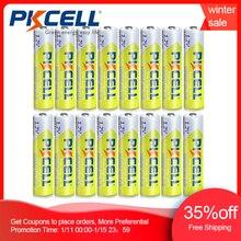 16 teile/los PKCELL 1,2 V 1000mAh NiMh AAA Akku Ni Mh 3A Batterien AAA Battria Hohe Energie Für taschenlampe spielzeug