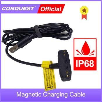 Перейти на Алиэкспресс и купить Оригинальный магнитный кабель для завоевания S12Pro/S16 /S18/S19 Быстрая зарядка для прочного смартфона USB Магнитный зарядный кабель