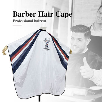 Professional Barber Shop Hairdressing Cape Hair Cutting Waterproof Cloth Salon Barber Gown Capes Hairdresser Barber Hair Cape pro salon hairdressing cape hairdresser hair cutting gown barber cape hairdresser cape gown cloth waterproof hair cloth d1