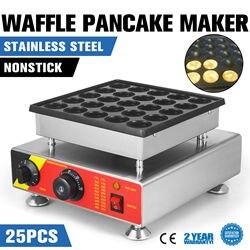 25 sztuk elektryczne niderlandzkiego naleśnik Baker ekspres Mini Poffertjes handlowa 800W