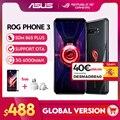Оригинальное ASUS ROG Phone 3 глобальная версия ZS661KS 5G Смартфон Snapdragon 865 плюс NFC Android Q OTA Update игровой телефон ROG3