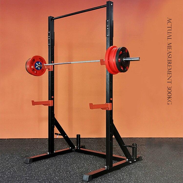 home fitness ausrustung squat rack bank stehen gewicht bank barbell stehen kinn up gym personliche trainer