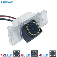 LEEWA Автомобильная специальная резервная камера заднего вида с 4LED/8LED/12LED подсветкой для Citroen C-Quatre C4 C5 камера заднего вида