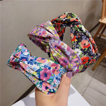 Korea Little Floral  Cross  Knot Tie Hairbands  For Women Hair Accessories For Girls Hair Band Hair Bows  Hairband Headbands little lux korea 10g 100
