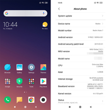 Global ROM Xiaomi Redmi Note 7