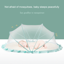 Baby Mosquito Net Cover Foldable Mosquito Net For Baby Crib Newborn Children Insect Control Light Proof Baby Crib Canopy Net
