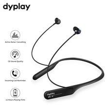 Active Noise Cancelling Hoofdtelefoon Draadloze Nekband Headsets Bluetooth In Ear Lichtgewicht Waterdichte Oordopjes Online Conferentie