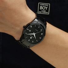 Full Black Wrist Watches men 2019 Business Style male Wristwatches Quartz  Stainless Steel Watch For Men Clock Calendar 2019