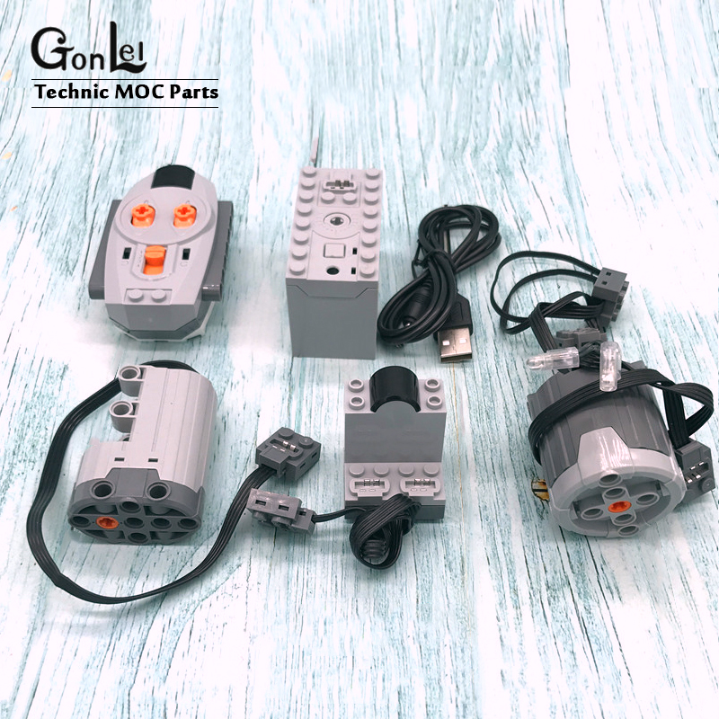 LEGO Power Functions Parts technic,motor,remote,receiver,battery,box,servo,led