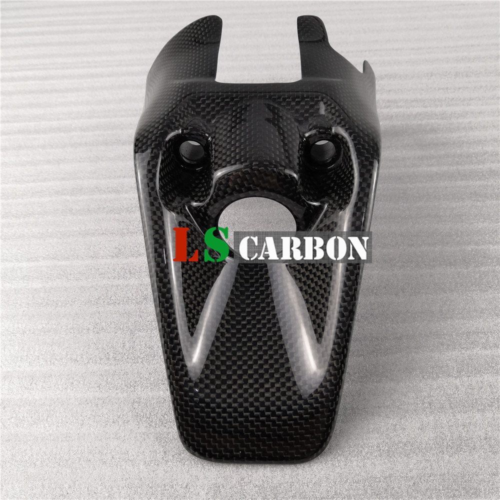 For Ducata Monster 1200 821 2017-2019 Full Carbon Fiber Motorcycle Accessories Key Cover