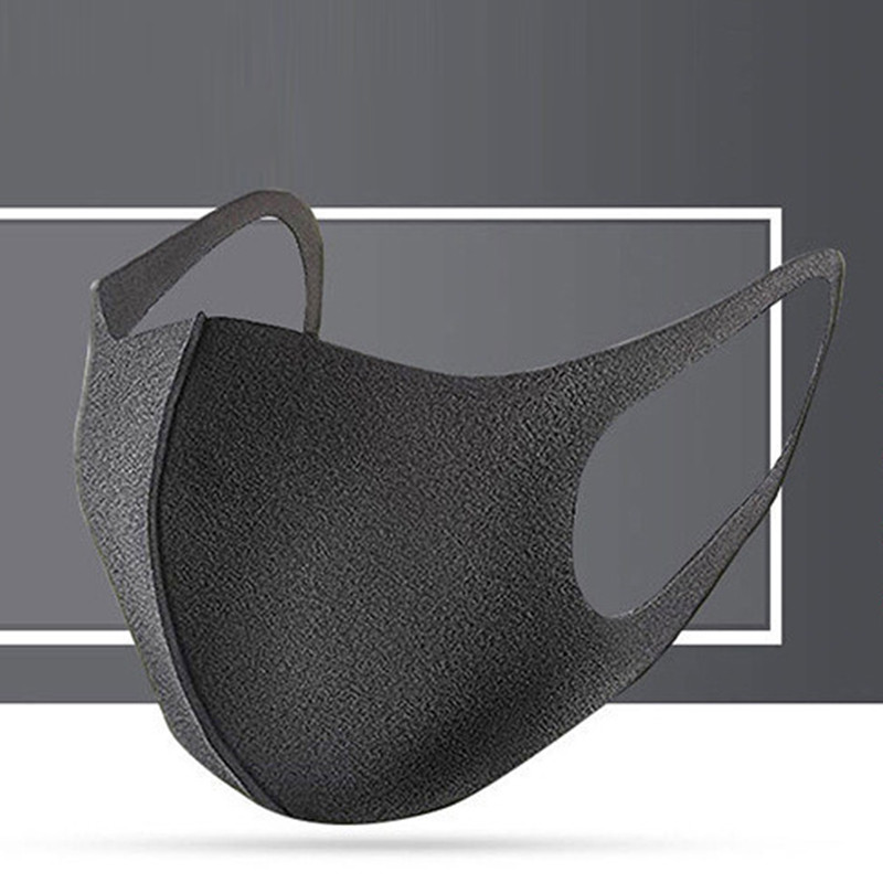 Motorcycle Anti-smog Soft Nano Fiber Sponge Breathing Protective Face Masks  Warm Mouth-muffle Anti-Dust Respirator