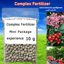 Flower-Plant-Food Fertilizer Pollution And Complex NPK 10-G Package-Purpose Safe Free-Use