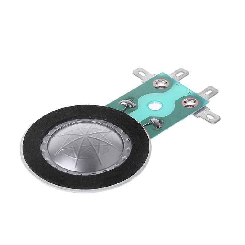 Bobine de voix de Tweeters de 25.4MM ronde haut-parleur bobine de corne de titane Film de cuivre plaqué accessoires de réparation de diaphragme en aluminium