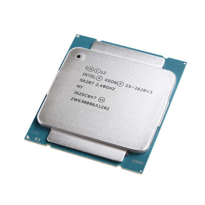 Intel Xeon E5 2620 V3 procesador SR207 2,4 Ghz 6 Core 85W Socket LGA 2011-3 CPU E5 2620V3