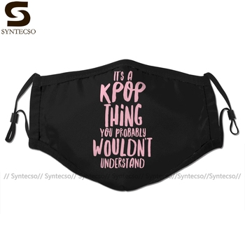 Tvxq Mouth Face Mask It IS A KPOP Thing Facial Mask Fashion Cool with 2 Filters for Adult