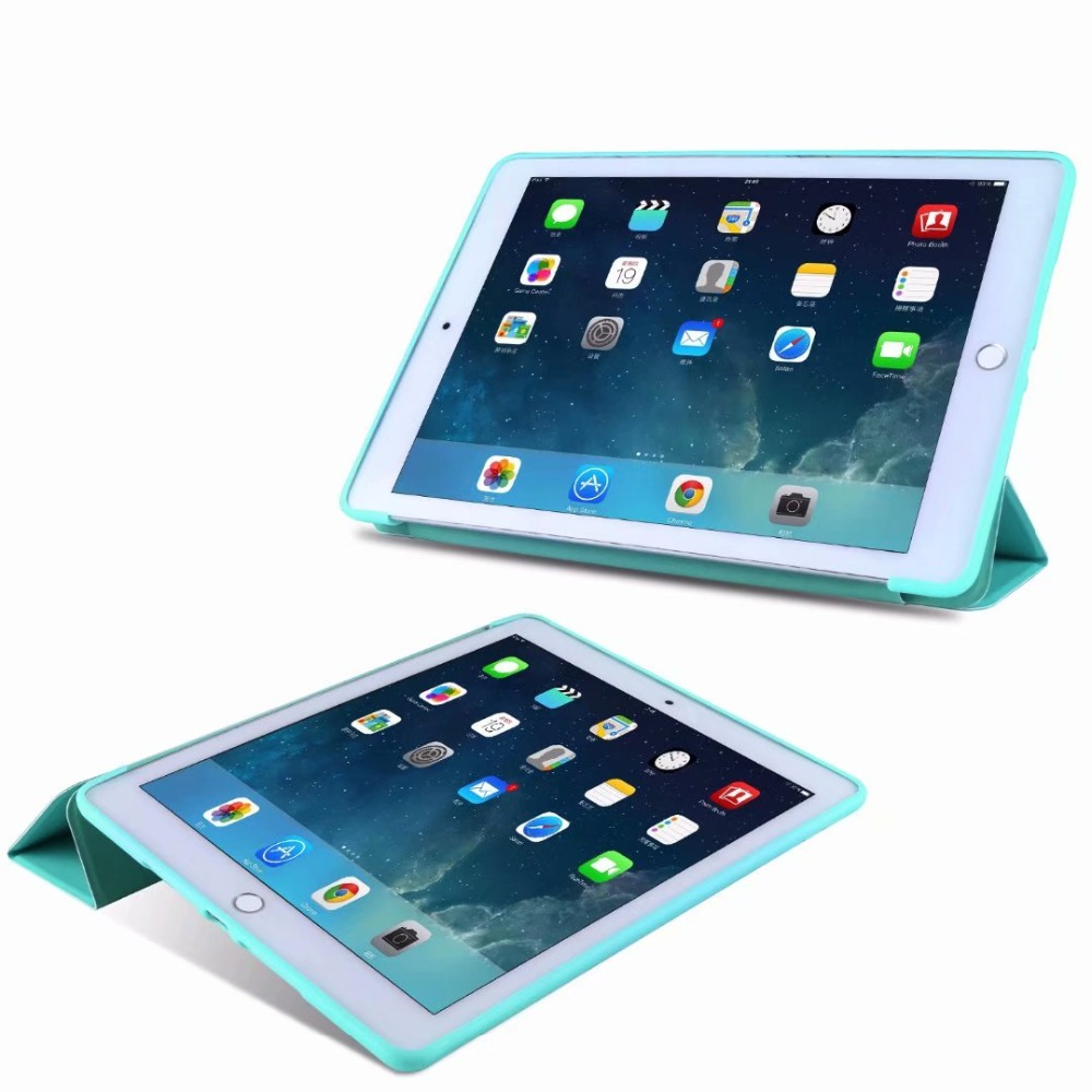 TPU light iPad Case Tablet 10.2 Cover Tri-fold For Case 2 Ipad Slim For Smart 10 Soft