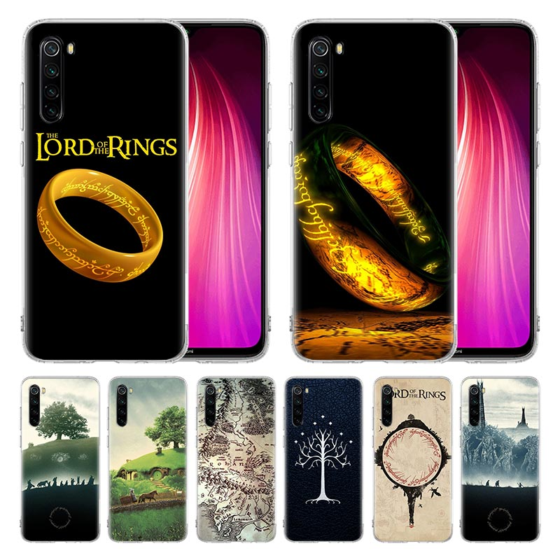 Case For Xiaomi Redmi Mi Note 9 9S 8 8T 7 6 Pro Max K20 K30 Zoom 5G 6A 7A 8A 7S Cover Coque The Lord Of The Rings