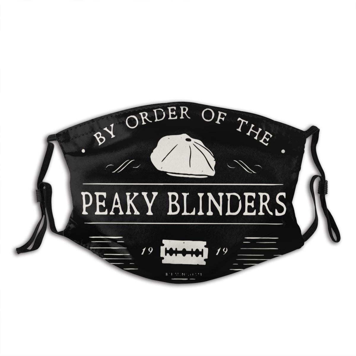 By Order Of The Peaky Blinders Unisex Non-Disposable Face Mask Anti Haze Dust Cover Respirator Muffle Mask With Filters