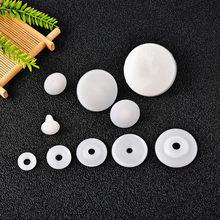 10 conjunto plástico diy boneca esqueleto joint proteção nariz olho acessórios para urso de pelúcia que faz o ofício 15-30mm juntas de boneca de plástico