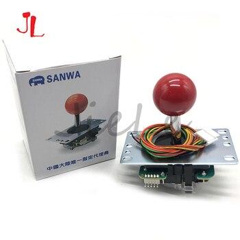 Joystick de Sanwa Original de Japón JLF-TP-8YT rocker de lucha con Topball y cable de 5 pines para el juego de arcade Jamma