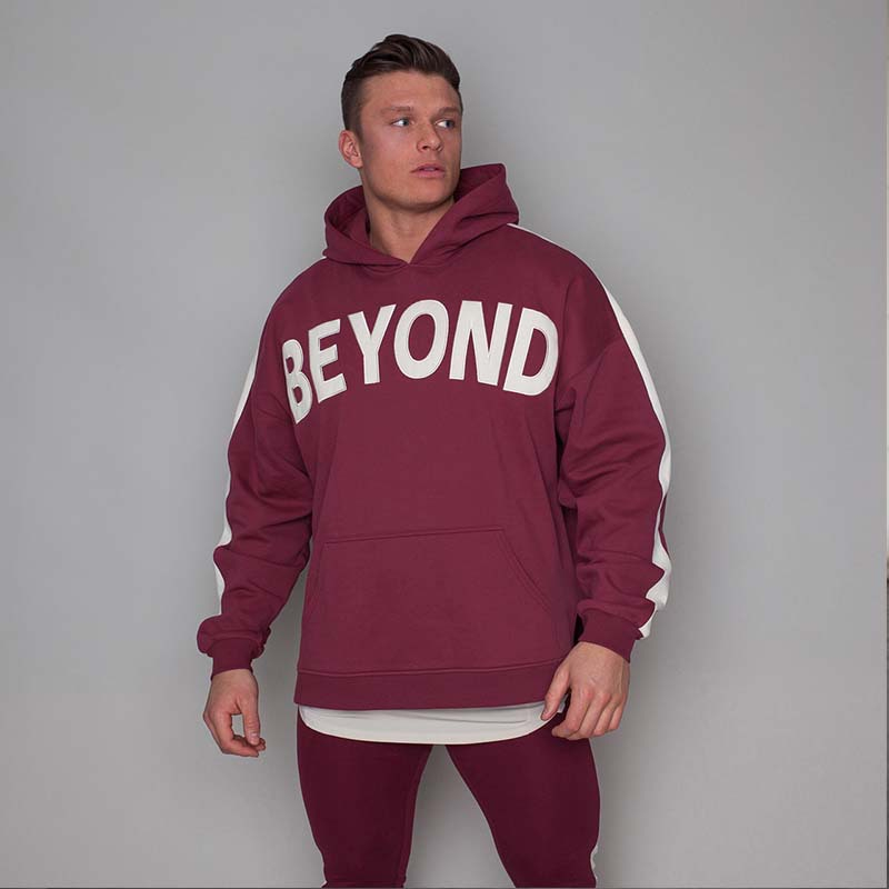 Autumn Mens Skinny Hoodies Sweatshirts Male Gyms Fitness Bodybuilding Joggers Sportswear Casual Fashion Cotton Patchwork Hoodie
