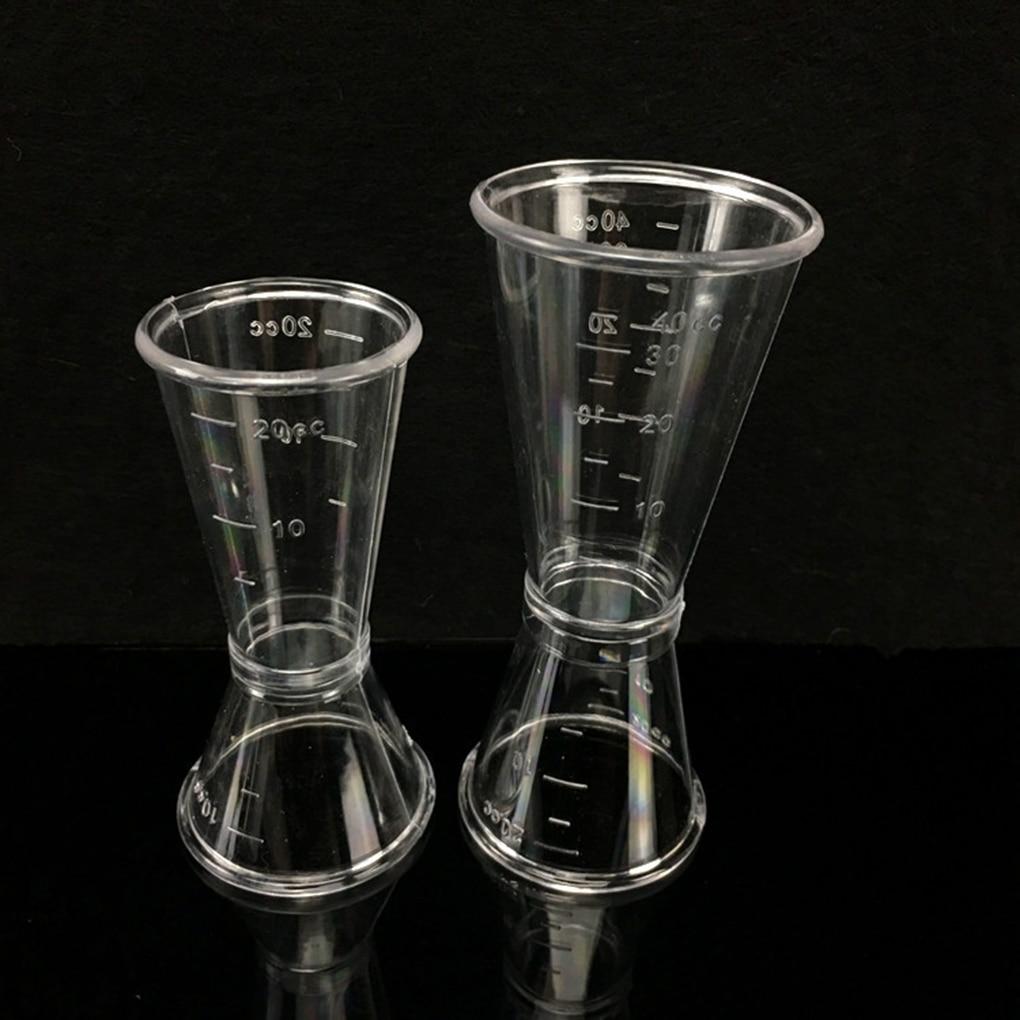 1PC קוקטייל למדוד כוס בית בר מסיבת שימושי בר אביזרי קצר לשתות מדידת מדידת כוס קוקטייל שייקר הג 'יגר