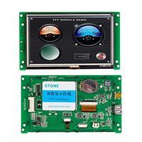 Venta 5 0 pulgadas UART HMI Smart TFT LCD Módulo de pantalla táctil integrado interfaz de soporte