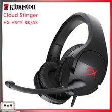 מקורי קינגסטון HYPERX ענן סדרת наушники משחקי אוזניות או כרטיס קול תואם עם מחשב/Xbox אחד/PS4 אוזניות אוזניות