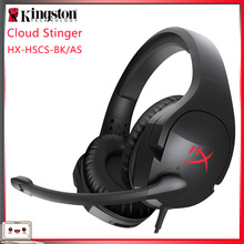 Original Kingston HYPERX Cloud Series наушники Gaming Headset or Sound card Compatible With PC/Xbox One/PS4 Earphone Headphones