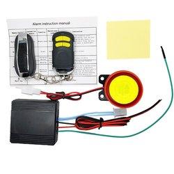 Uniwersalny podwójny pilot motocykl alarmowy System bezpieczeństwa motocykl ochrona przed kradzieżą rower skuter System alarmowy silnika w Zestawy systemów alarmowych od Bezpieczeństwo i ochrona na